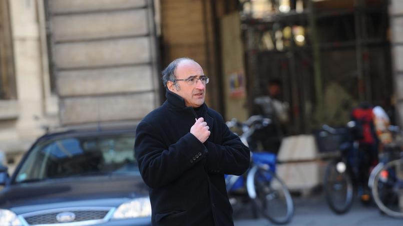 Eric Halphen à Paris, le 9 mars 2010.