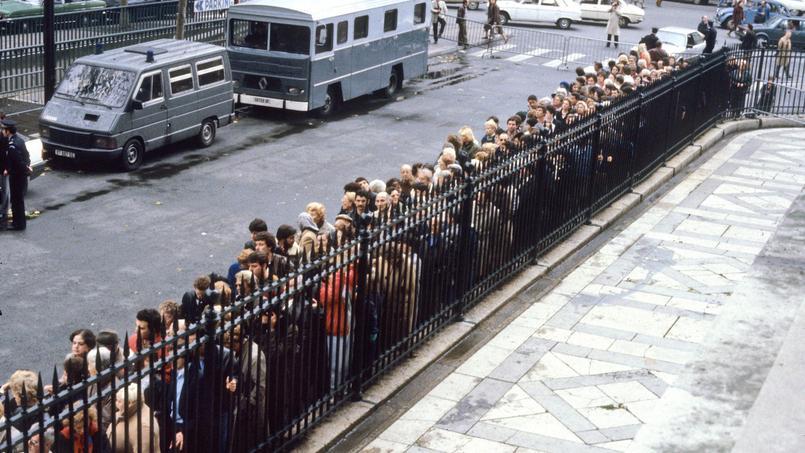 Paname, capitale de la gouaille et du langage fleuri (Place de la Madeleine, 1986).