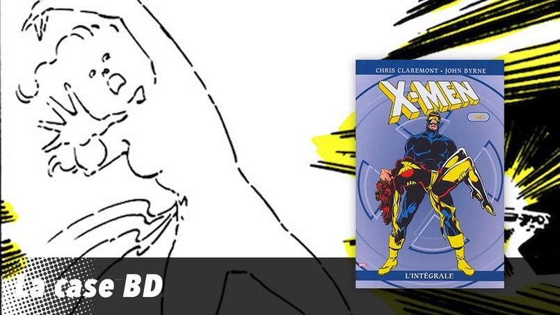 John Byrne signe ici une planche (page 118 de l'édition X-Men l'intégrale -1980) qui a marqué l'histoire du comics.