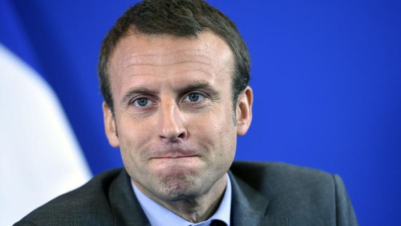 Emmanuel Macron en couple avec Mathieu Gaillet : le candidat dément avec humour !