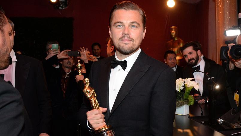 Porté par sa performante ahurissante dans «The Revenant», l'acteur accède au trophée du meilleur acteur en 2016.