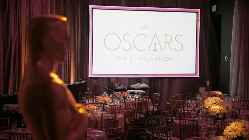 La saison des Oscars est devenue une tribune anti-Trump pour les professionnels de Hollywood. Au déjeuner des nommés (photo), la présidente de l'Académie a ainsi rappelé que «l'art n'a pas de frontières».