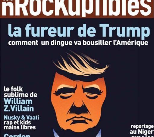Couverture du dernier numéro des Inrocks