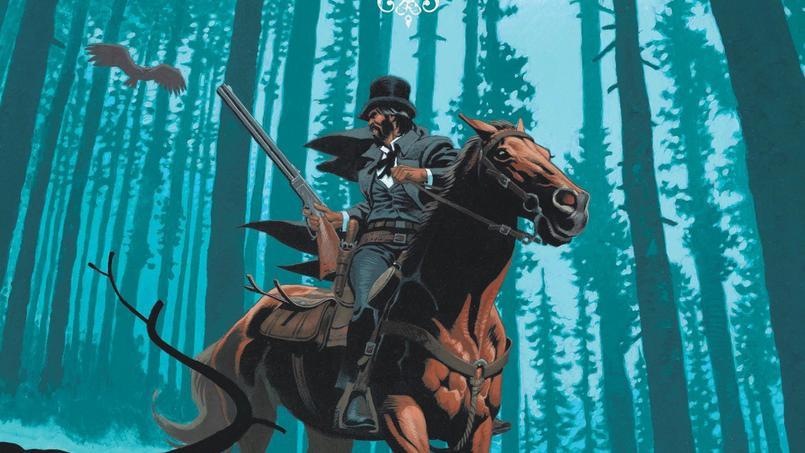 Le western tient une place prépondérante dans le classement des ventes de bandes dessinées. Ici l'album «Undertaker»