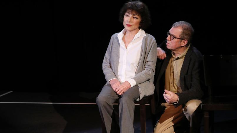 Judith Magre et Jean-Claude Leguay dans L'Amante anglaise  au Lucernaire.