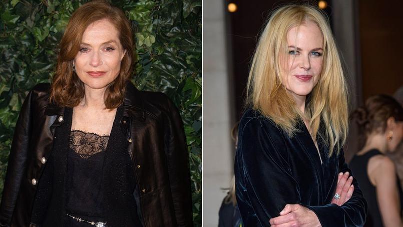 L'Australienne Nicole Kidman dit toute son admiration pour Isabelle Huppert.
