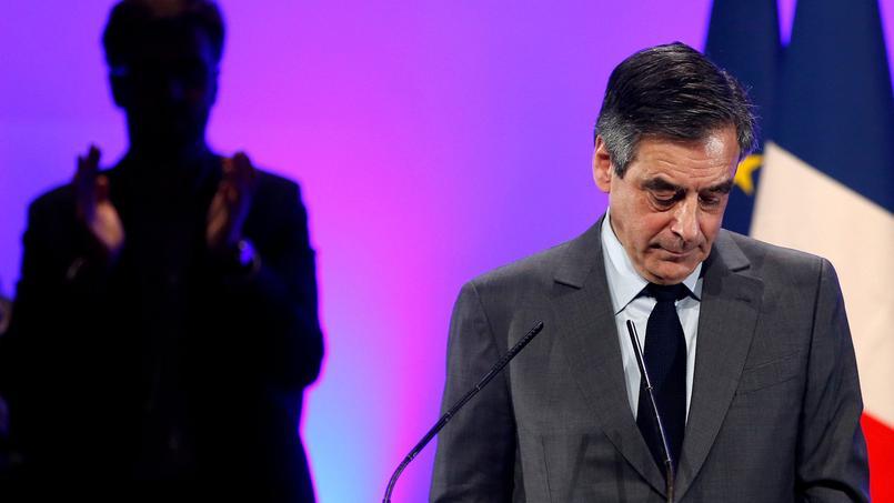 François Fillon à Poitiers, le 9 février 2017.
