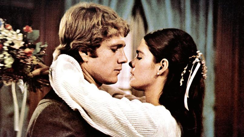 Love Story, de Arthur Hiller avec Ryan O'Neal, Ali MacGraw, 1970.