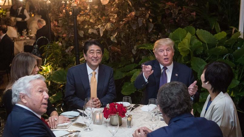 Trump affirme l'engagement des Etats-Unis pour