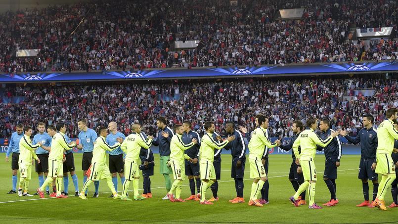 PSG - FC Barcelone en avril 2015
