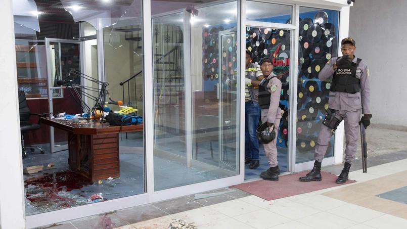 Deux journalistes ont été tués en pleine émission en République dominicaine, le 14 février 2017.