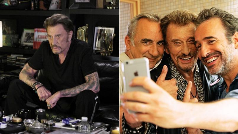 Johnny n'est jamais meilleur que lorsqu'il joue... Johnny. Le chanteur joue son rôle dans Rock'n roll de Guillaume Canet et Chacun sa vie de Claude Lelouch.
