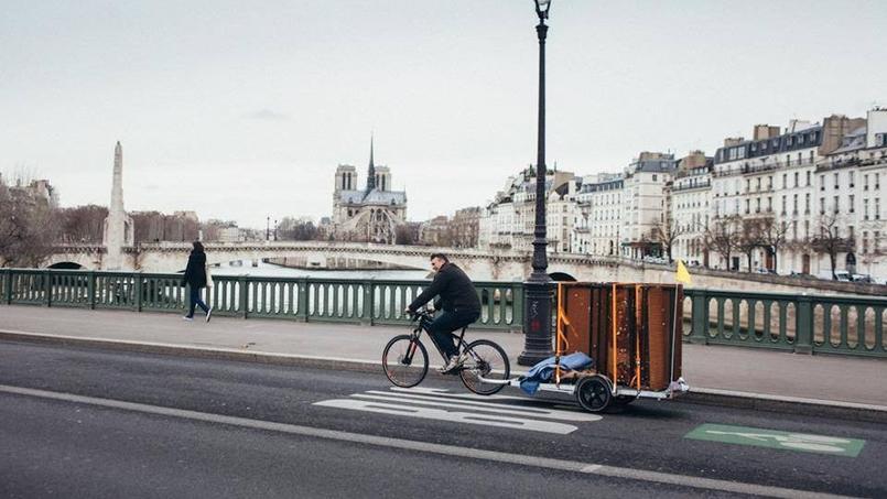 Carton Plein a trouvé une alternative écologique aux déménagements avec le vélo