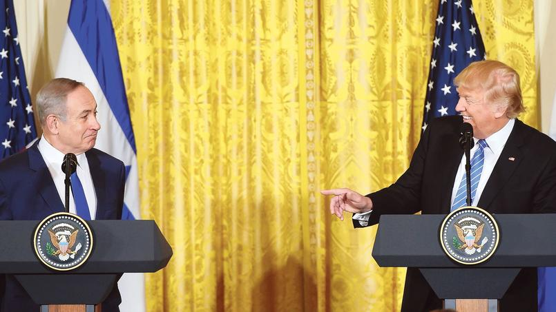 Benyamin Nétanyahou et Donald Trump, à la Maison-Blanche.