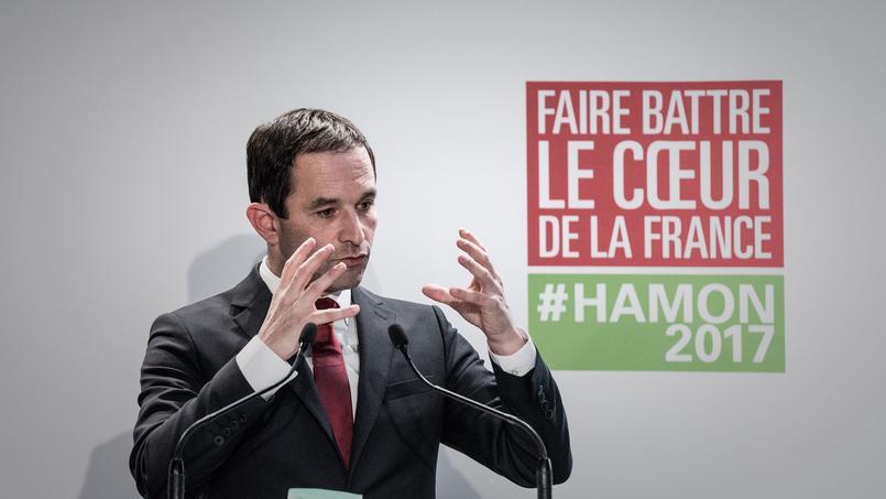 L'instauration d'un revenu universel est soutenue par le candidat socialiste Benoît Hamon