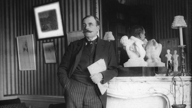 Octave Mirbeau (1848-1917) journaliste, écrivain et dramaturge français.