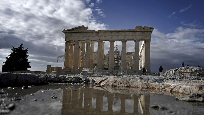 Le défilé devait partir devant le temple du Parthénon, au sommet de la colline de l'Acropole à Athènes.