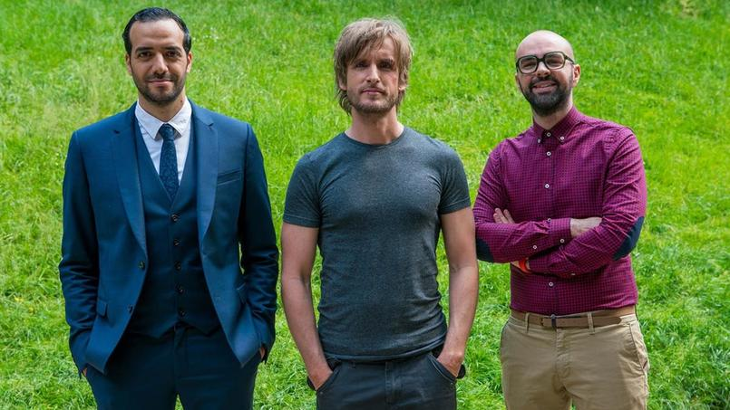 Tarek Boudali, Philippe Lacheau et Julien Arruti, le trio gagnant des Babysitting I et II.