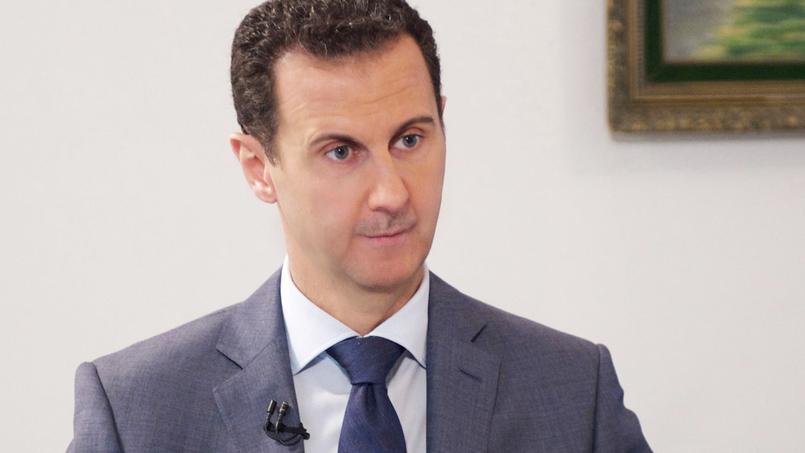 Bachar el-Assad (ici à Damas le 8 décembre dernier) accuse les responsables politiques et médias occidentaux de diaboliser son régime.