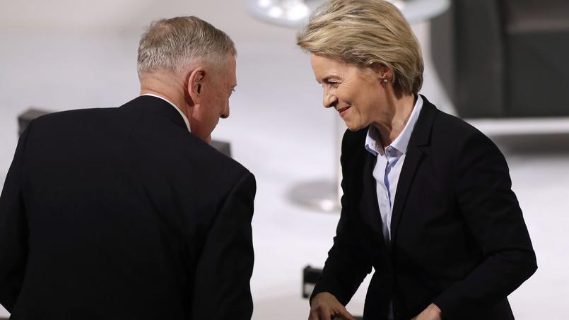 Jim Mattis et Ursula von der Leyen, vendredi à Munich.