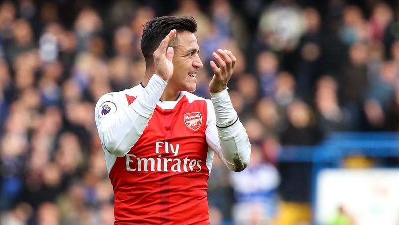 Alexis Sanchez, le meilleur joueur d'Arsenal depuis le début de la saison.