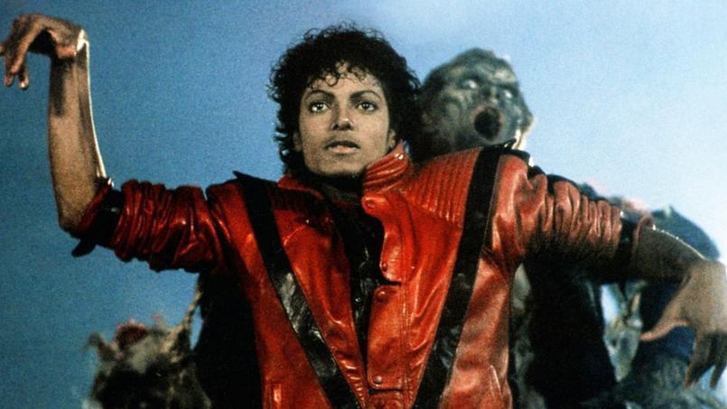 Michael Jackson, lors du clip Thriller réalisé, en 1983, par John Landis.