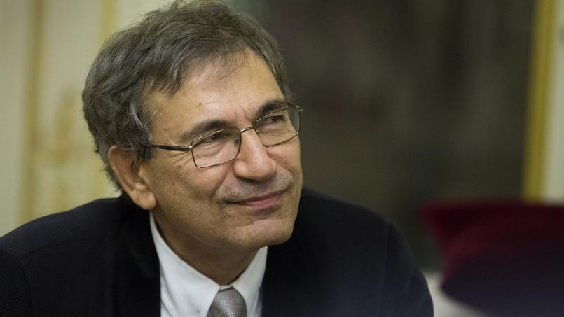 Orhan Pamuk le 29 octobre 2012.