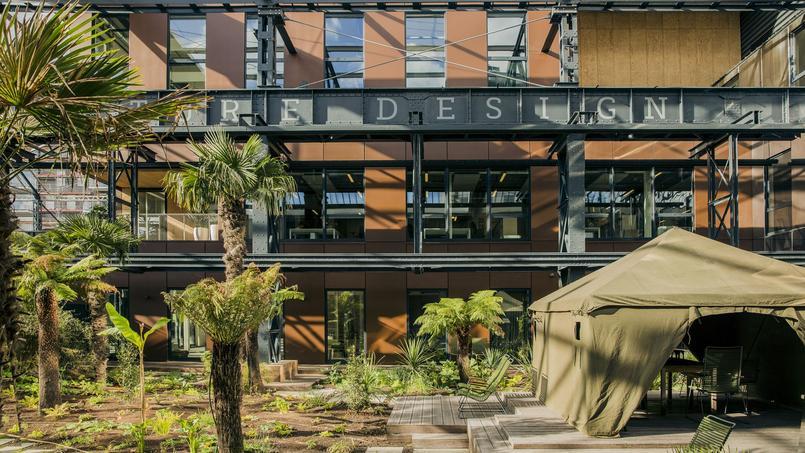 La nouvelle Manufacture Design, un bureau aux notes tropicales