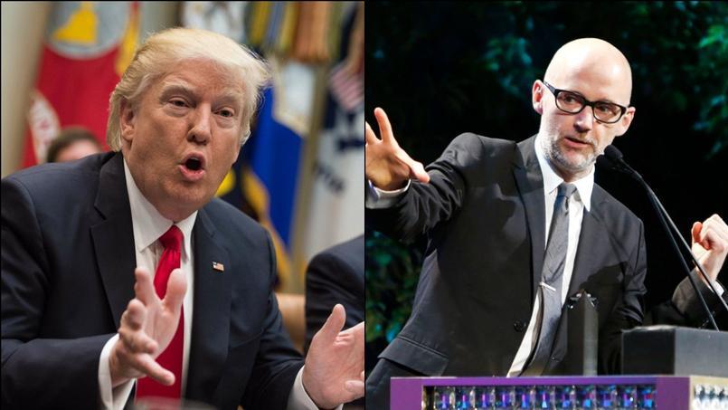 Le chanteur Moby vient de lancer une bombe en direction de Donald Trump à travers sa lettre ouverte publiée sur Instagram.
