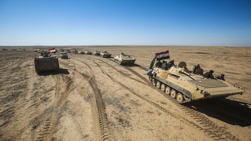 L'armée lance l'offensive pour reprendre l'ouest de Mossoul à Daech — Irak