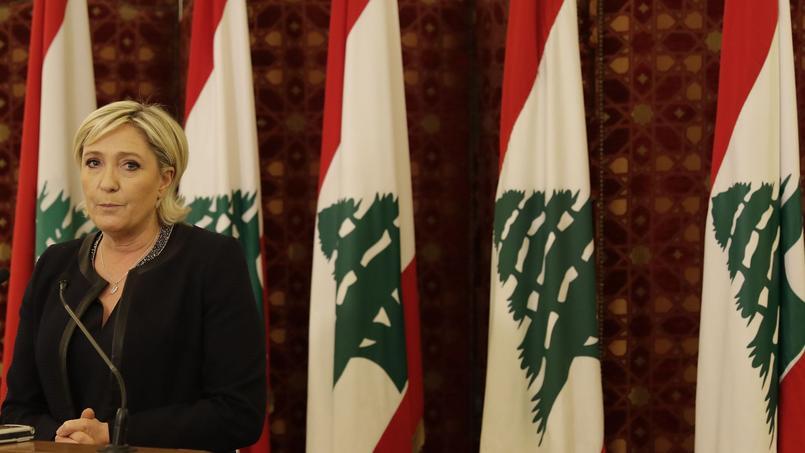 Au Liban, Marine Le Pen nuance sa position sur la suppression de la double nationalité