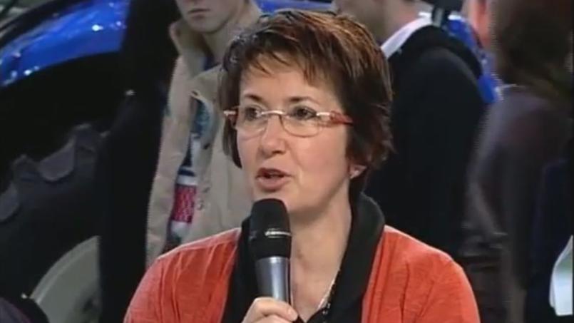 Christiane Lambert a accédé au bureau de la FNSEA en 2005.