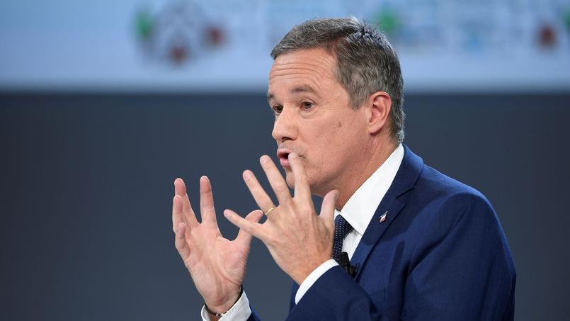 Nicolas Dupont-Aignan, le 21 février 2017.