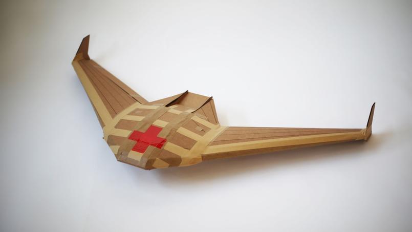 Icarus, «l'avion en papier industriel le plus sophistiqué au monde» selon le laboratoire Otherlab.