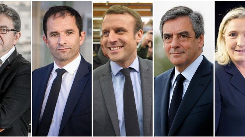 Les cinq favoris à la présidentielle