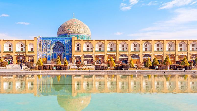 A Ispahan, la mosquée du Sheikh Lotf.