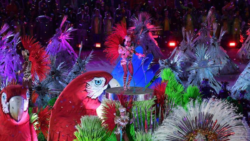 Le carnaval de Rio en 2016.
