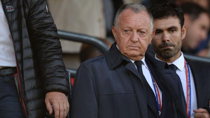 Jean-Michel Aulas, le président de l'Olympique Lyonnais