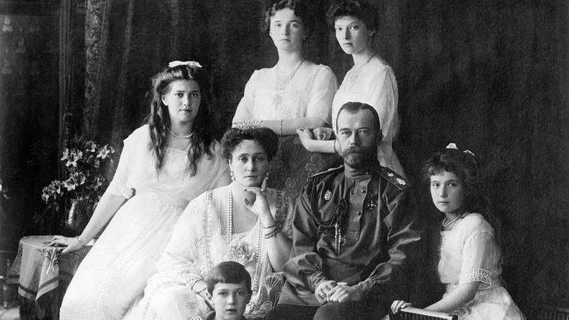 La famille impériale vers 1913-1914