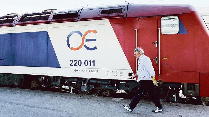 Il y a un mois, TrainOSE a été vendue pour 45millions d'euros aux Italiens de Ferrovie dello Stato Italiane.