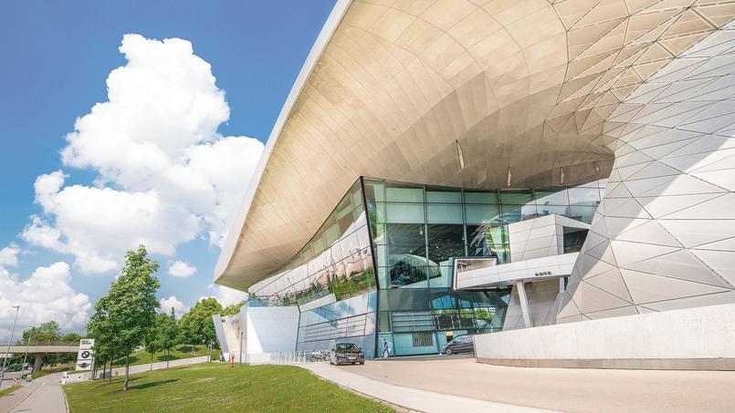 Le musée BMW de Munich.