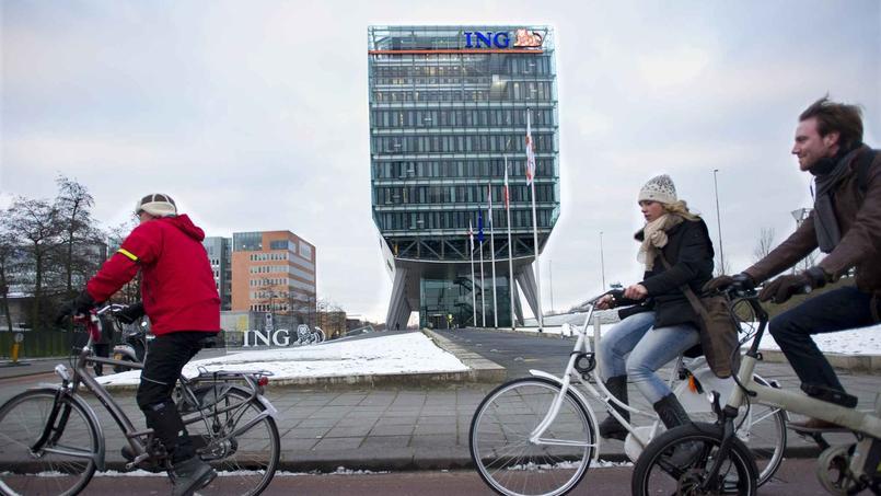 Le siège de la banque ING Direct situé aux Pays-Bas.