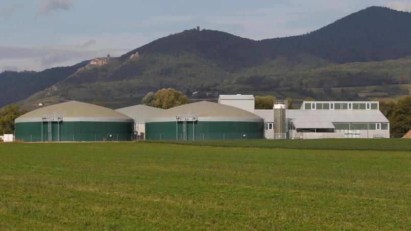 Neuf nouveaux sites de production ont été mis en opération l'année dernière en France.