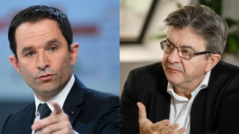 Benoît Hamon et Jean-Luc Mélenchon partagent de nombreux points communs sur le terrain économique et social.