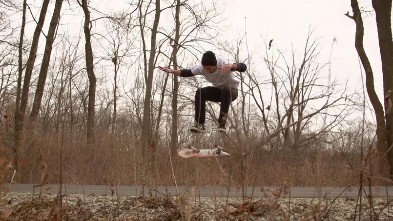 Capture d'écran du film de Brett Novak diffusé sur Youtube.