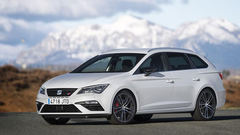 seat leon cupra 300 le break se met en quatre. Black Bedroom Furniture Sets. Home Design Ideas