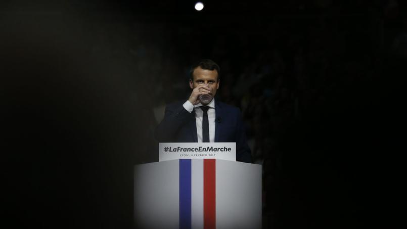 Emmanuel Macron à Lyon, le 5 février 2017.