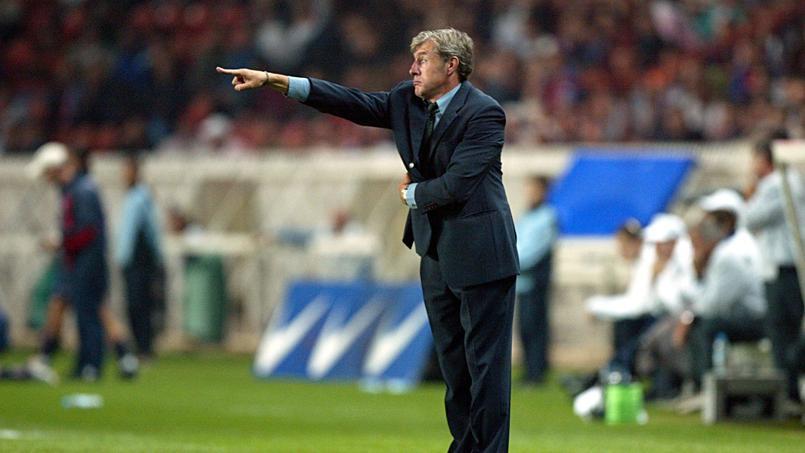 Luis Fernandez, coach du PSG de 1994 à 1996 puis de 2000 à 2003