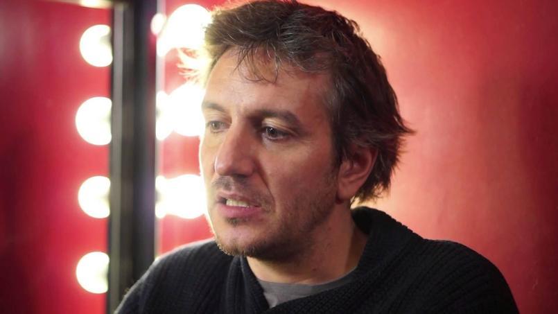 Olivier Sauton est actuellement à l'affiche de Fabrice Luchini et moi au Théâtre La Bruyère, à Paris.