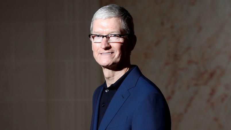 Tim Cook, le PDG d'Apple.